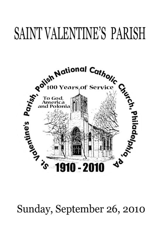 St. Valentine's Philadelphia - 100th Anniversary